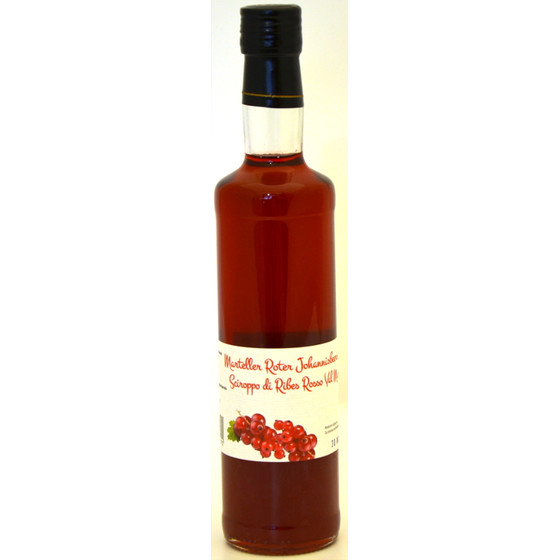 Sirup rote Johannisbeere 0,5 l